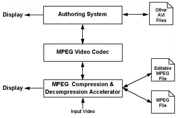 MPEG Extension to AVI File Format
